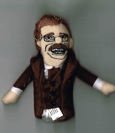 Theodore Roosevelt Finger Puppet